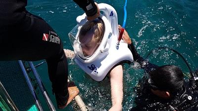 Mũ lặn của SeaTrek USA