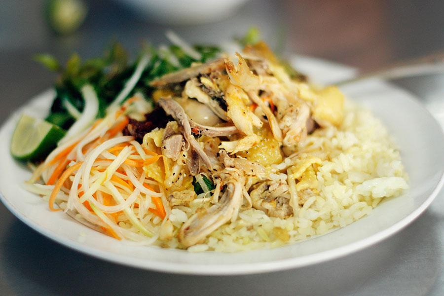 cơm gà ẩm thực hội an