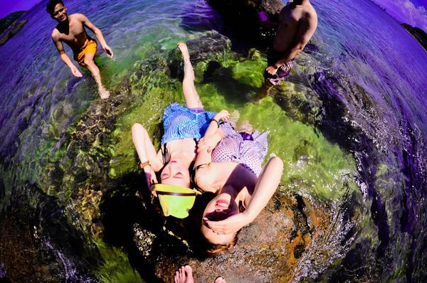 tắm biển Cù Lao Chàm