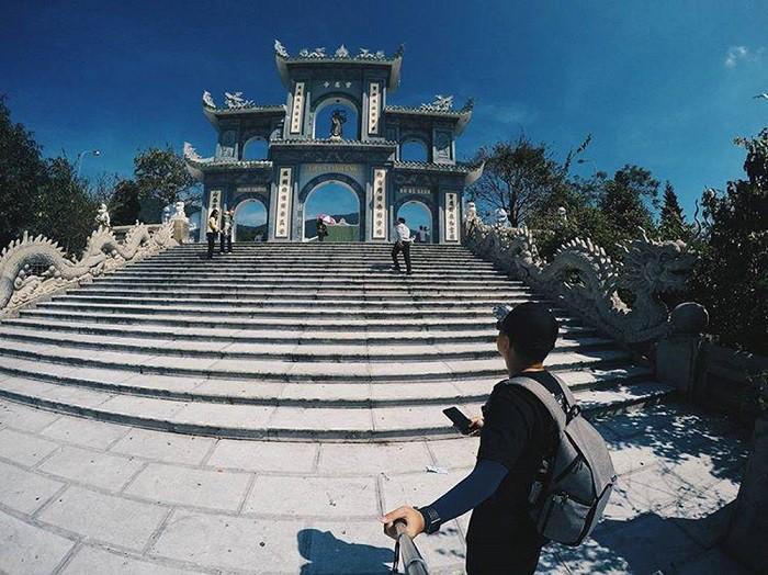 Một góc đẹp của Chùa Linh Ứng