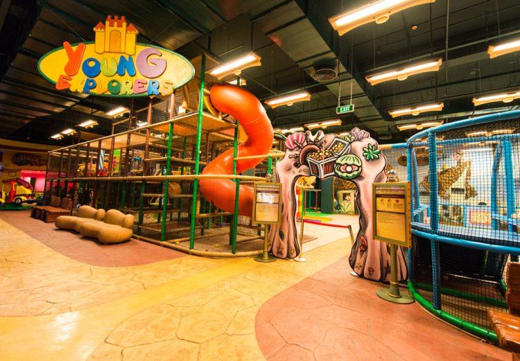 Gía vé trò chơi khu Fantasy Park