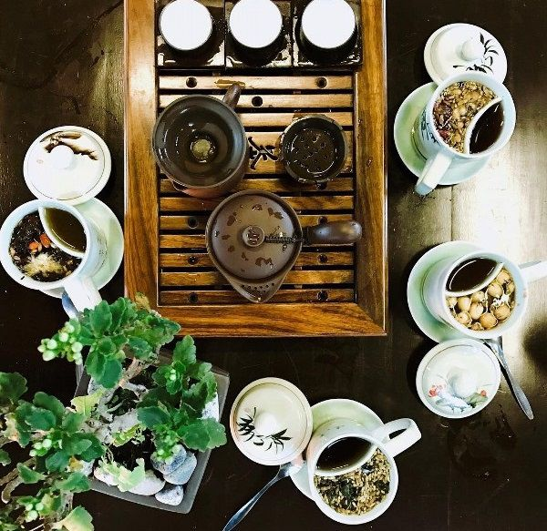 Trà đạo tại trú vũ trà quán