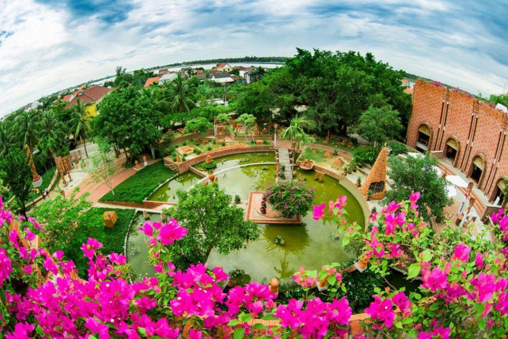 Toàn cảnh công viên đất nung Thanh Hà