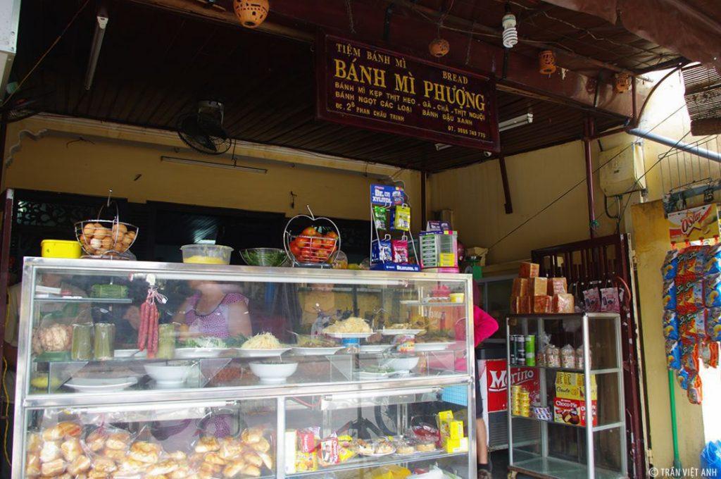 Full danh sách các quán bánh mì ngon tại Hội An