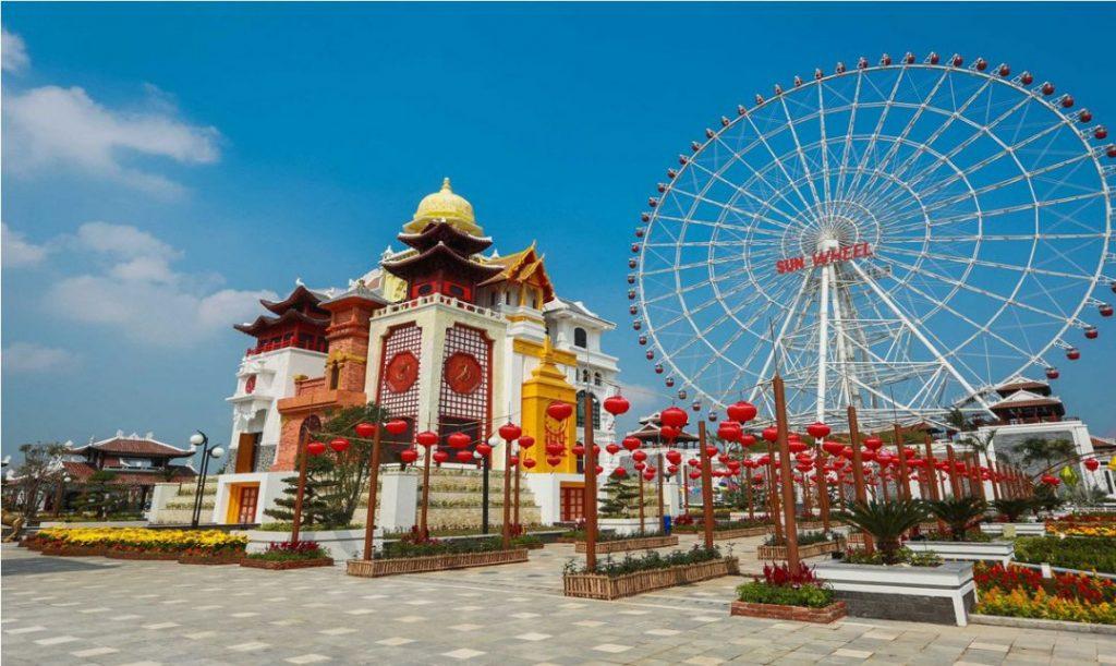 tháp đồng hồ Asia Park