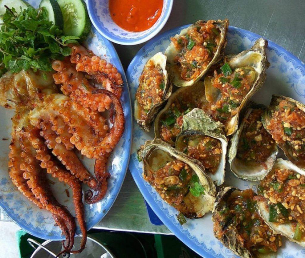 hải sản bán đảo Sởn Trà